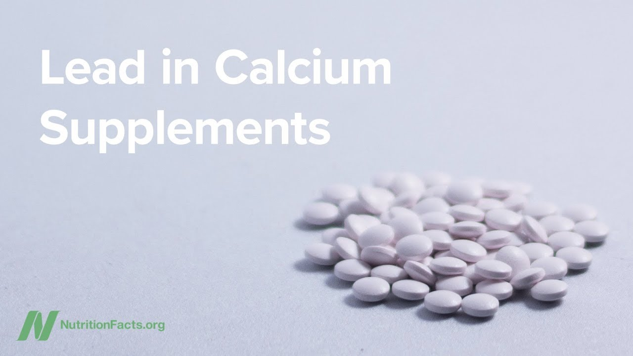 Lead in Calcium Supplements