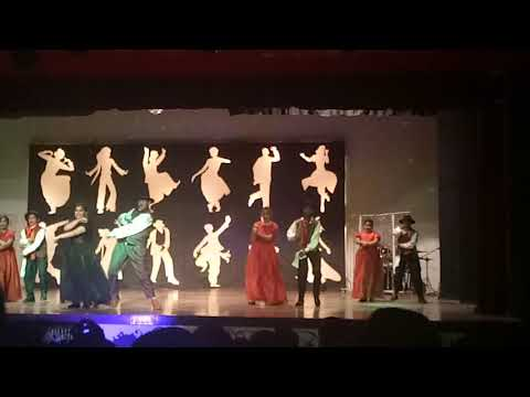 Aanya's dance performance at the crescendo😀