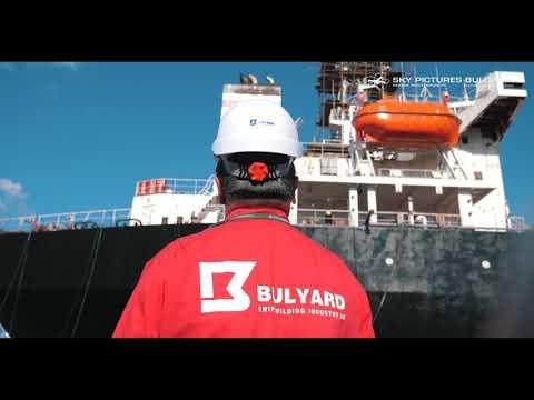 """Bulgaria Aerial Ship drone service Shipowner """"Blumenthal GmbH & CO  m/v IRMGARD; m/v OLGA; m/v LITA"""
