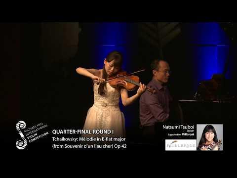 2017 Round #1 Competitor #7 N Tsuboi | Tchaikovsky: Mélodie in E flat major Op 42