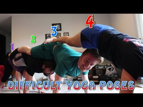 the most difficult yoga poses attempted  youtube
