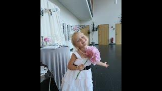 София на свадьбе в Германии))) Wedding in Germany