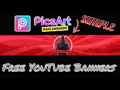 How To Make YouTube Banners For Free On IOS And Android!! (Easy/Simple)