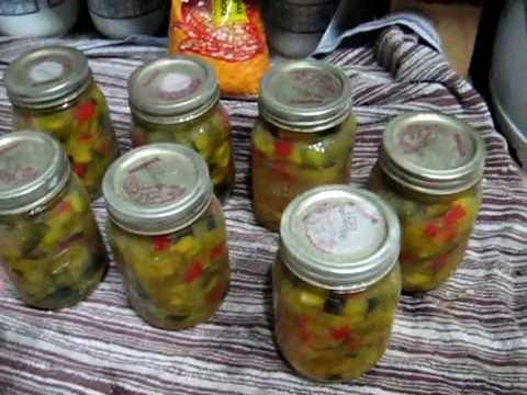 Homestead Series How To Can Zucchini Relish