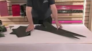 Упаковка букета(Как сделать упаковку для цветов., 2013-10-27T21:30:09.000Z)