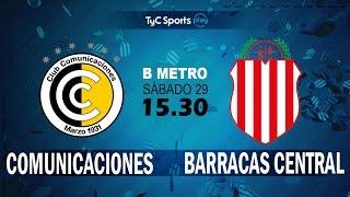 CSD Comunicaciones vs Barracas Central full match