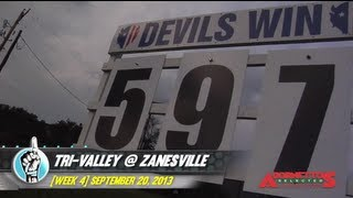 HS Football: Tri-Valley @ Zanesville (9/20/13)