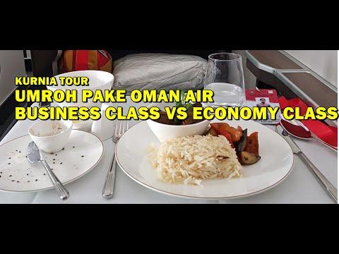 BEDANYA UMROH PAKE BUSINESS CLASS DENGAN ECONOMY CLASS.