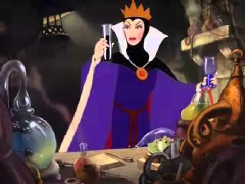 Snow White Evil Queen Transformation Speed Up/Slowed Down ...Disney Evil Queen Song