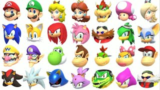 Mario & Sonic aт the Olympic Games Tokyo 2020 - All Characters