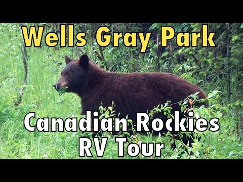 Canadian Rockies RV Tour: Bears And Waterfalls At Wells Gray Provincial Park
