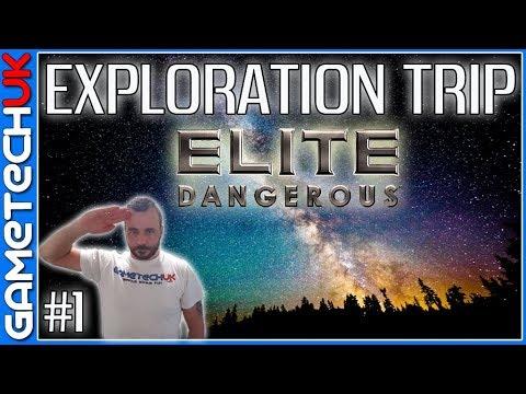 Elite Dangerous - Unlocking Palin - My first exploration trip!