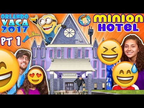 Thumbnail: MINIONS HOTEL TOUR! Coolest Room Ever!! Savage Dad @ Universal Studios Resort (FUNnel Summer FL #1)