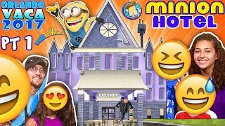 MINIONS HOTEL TOUR! Coolest Room Ever!! Savage Dad @ Universal Studios Resort (FUNnel Summer FL #1) thumbnail