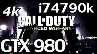 Call Of Duty Advanced Warfare | ULTRA 4k 3840X2160 | GTX 980 & i7 4790k