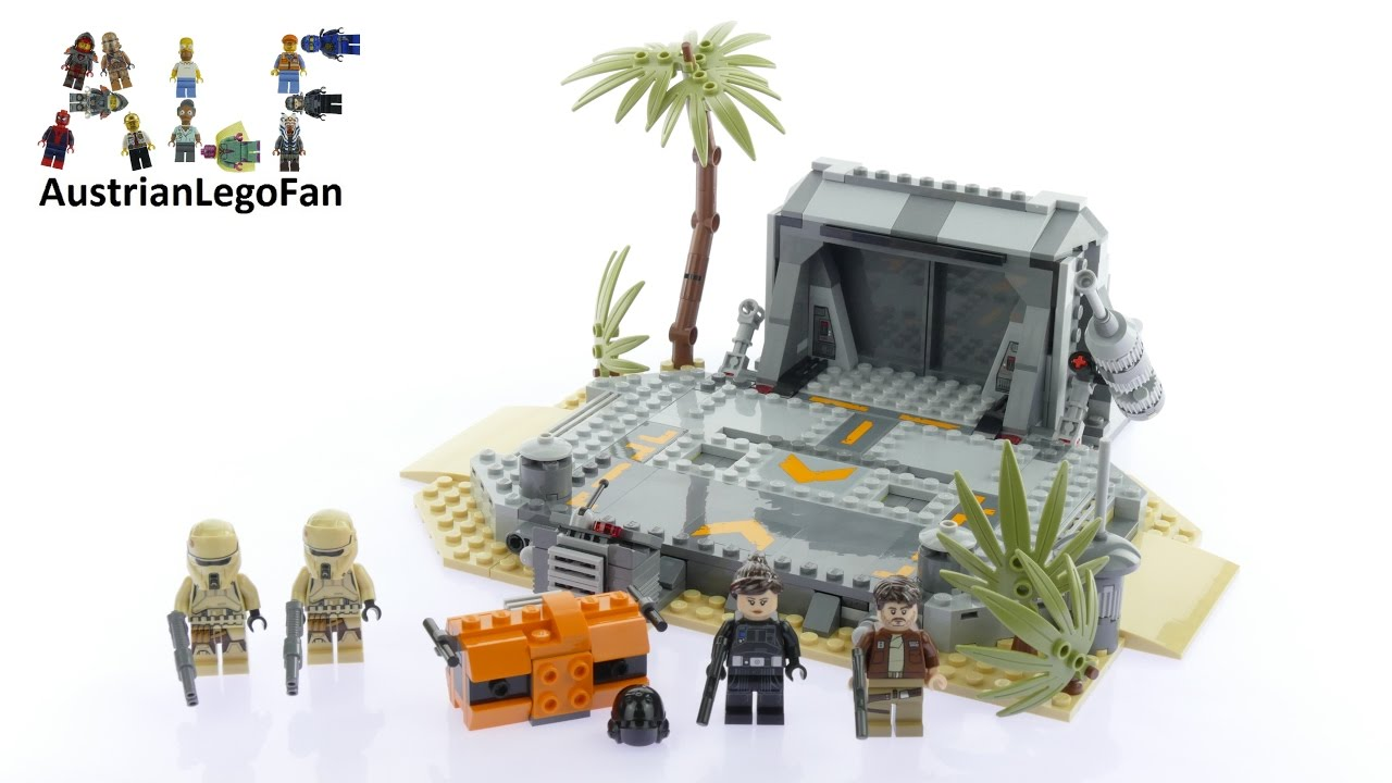Lego star wars 75171 battle on scarif lego speed build review youtube - Croiseur interstellaire star wars lego ...