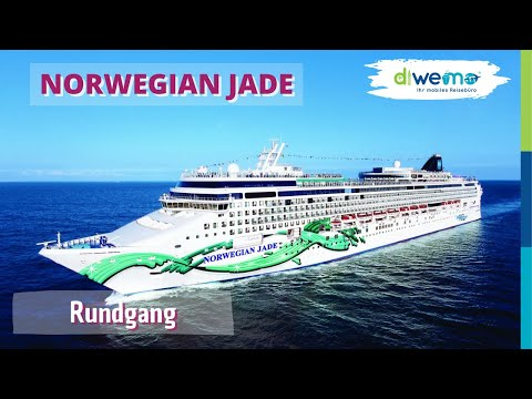 Norwegian Jade -  kompletter Rundgang