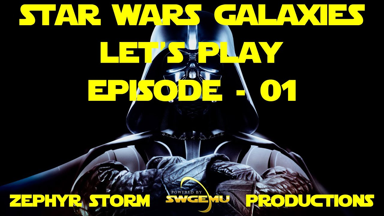 SWGEmu Star Wars Galaxies - Let's Play - EP1 by Zephyr Storm