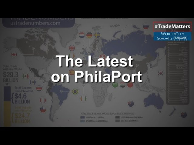 PhilaPort ranked high among other ports according to the latest trade data