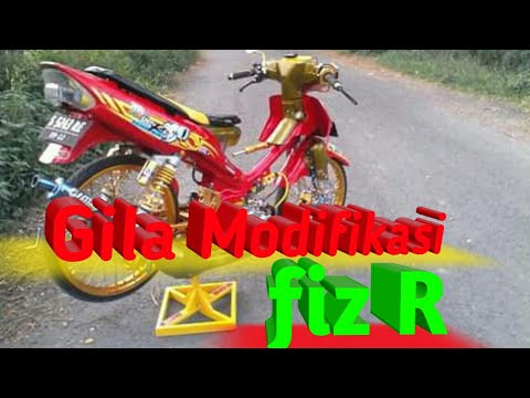 Modifikasi Yamaha Fiz R Simple Standard By Ahmad Syaifudin