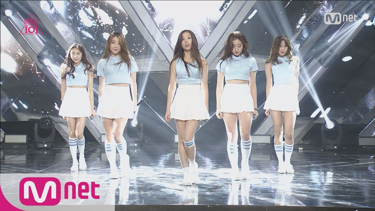 [Produce 101] Perfect Group Dance? – Group 1 Girl's Generation ♬Into the  New World EP 03 20160205