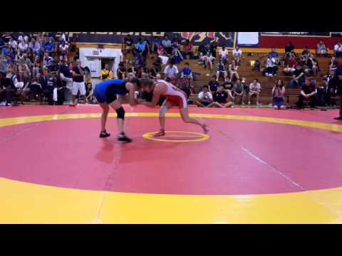2014 Canada Cup: 55 kg Final Jillian Gallays (CAN) vs. Erica D'Angelo (CAN)