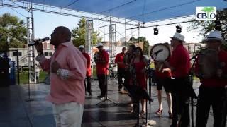 Los Hijos é Plena at the 33rd LatinoFest at Patterson Park, Baltimore, Maryland