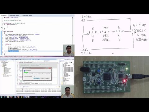 STM32F4Discovery Tutorial 4 - Clock Frequency
