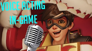 Voice Acting Tracer In Overwatch