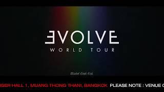 Baixar ย้ายที่จัดงาน Imagine Dragons Evolve World Tour in Bangkok