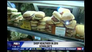 Shop Healthier in 2016 - Part 2 (1/3/16 on FOX 9)