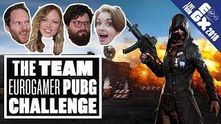 The Team Eurogamer PUBG Challenge - LIVE FROM EGX 2018!