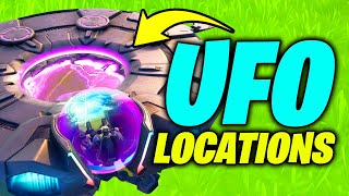 UFO Location - Fortnite Season 7 (How to get Abducted & Pilot UFO)