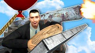 I Built and Battled an AirShip! - Garry's Mod Gameplay - AirWars Gamemode