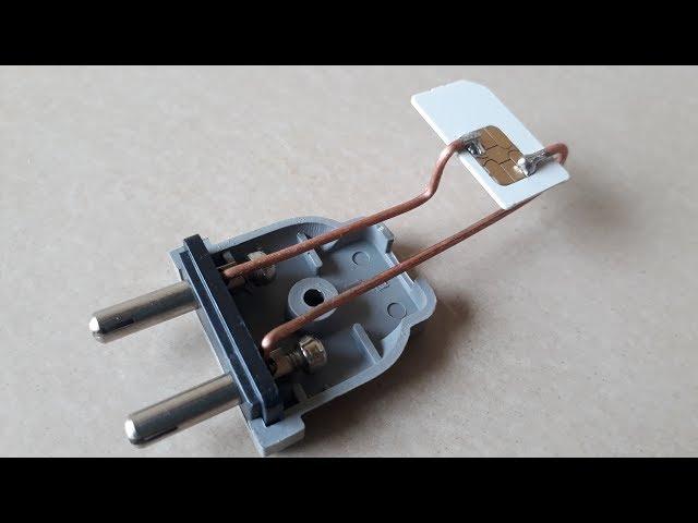 Free Energy Generator by Using Sim Card