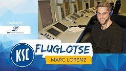 Fluglotse Marc Lorenz bei der Deutschen Flugsicherung
