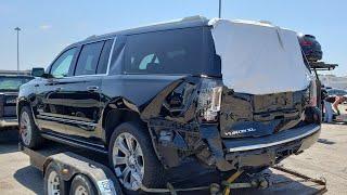 Жизнь в Америке. Ремонт машины после ДТП. 2016 GMC YUKON XL