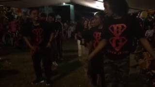 bg dancers walk out mello nennis