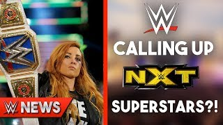 Becky Lynch Not Cleared For TLC?! WWE Calling Up NXT Superstars?! - WWE News Ep. 200