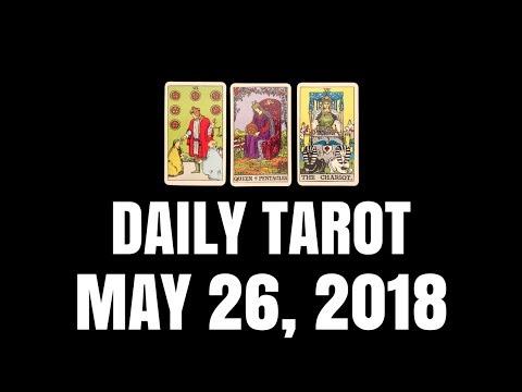 Daily Tarot Reading for May 26, 2018 | Magnetic Tarot