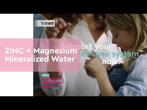 ZINC + Magnesium Mineralized Water