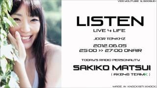 文化放送(JOQR 1134khz) 2012年6月5日 25:00~27:00放送 本日のラジオ...