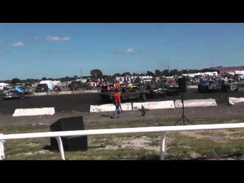 Nebraska State Fair Demolition Derby 2013