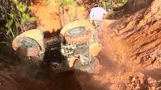 Brute Force 750 ATV Wreck