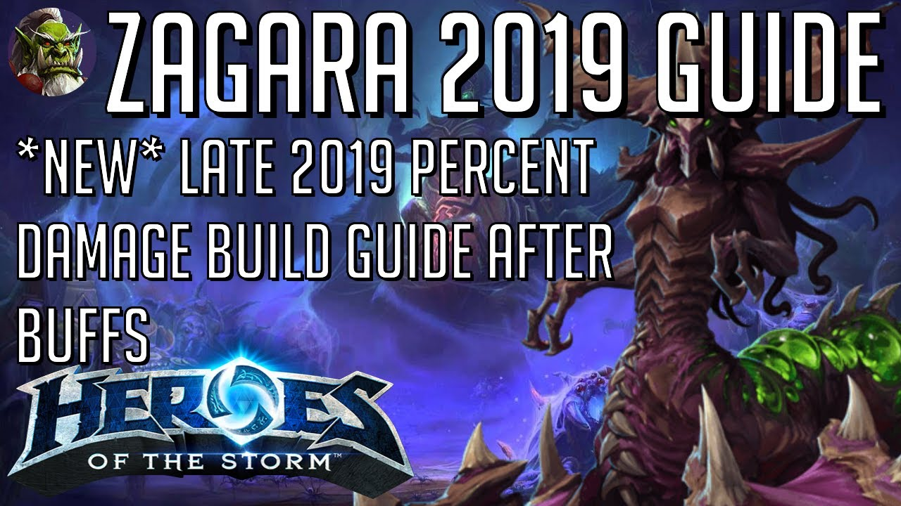 New Late 2019 Zagara Percent Damage Build Guide Hots Heroes Of The Storm Youtube Zagara and her summons move 20% faster on creep and have an increase in health regeneration. youtube