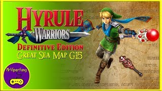 Hyrule Warriors (Switch): Great Sea Map G15 - Link