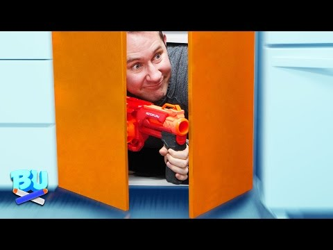 NERF Hide And Seek Challenge! Ep 2
