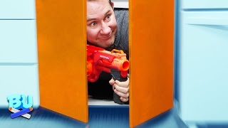 NERF Hide And Seek Challenge! [Ep 2]