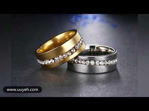 Free Fashion women's jewelry rings,Men's Ring(Background music is (faded))