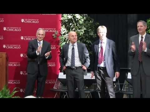 U. of Chicago Celebrates Eugene Fama & Lars Hansen Got Nobel Prize